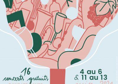 Festival Music e Vignes | Samedi 12 Juin 2021